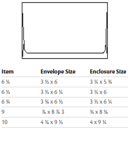 Envelope Basics | Sizing & Types | Envelope Printing DC, VA, MD